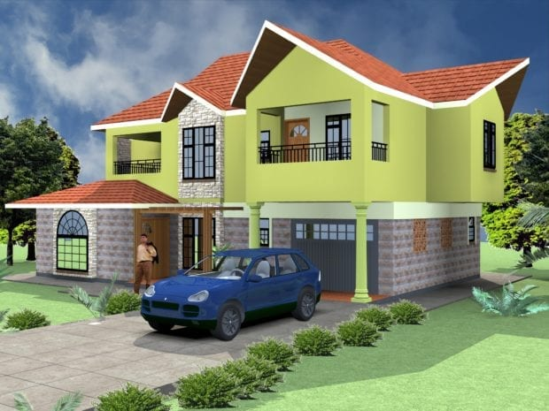 5 Bedroom Professional House Plans   HPD Consult
