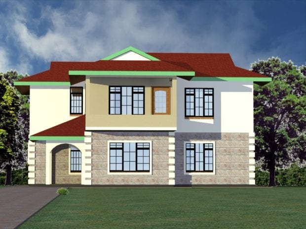 4 Bedroom Modern House Plans Designs| HPD Consult