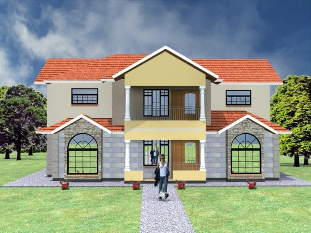 maisonette house plans kenya