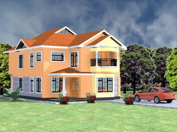 Cost of Building a 4 Bedroom Maisonette in Kenya | HPD Consult