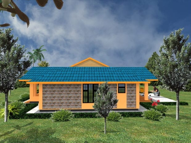 3 Bedroom House Designs in Kenya
