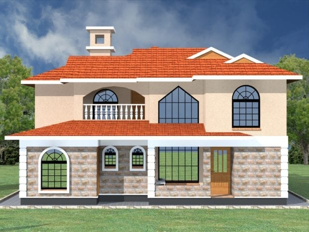 5 Bedroom Maisonette House Plan