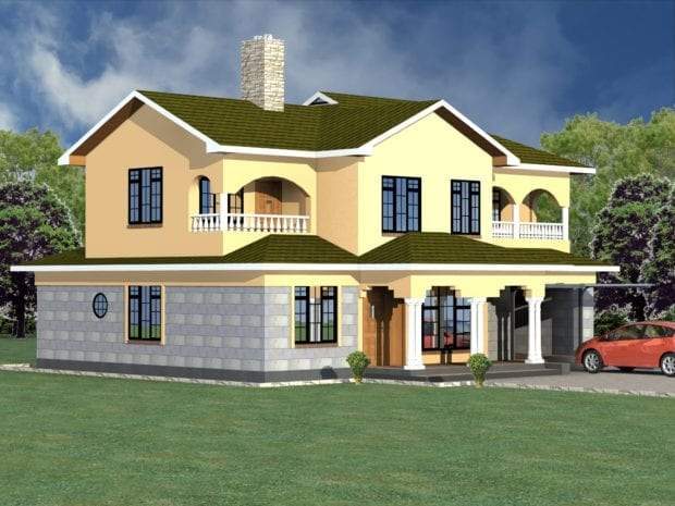 4 Bedroom 2 story house plans