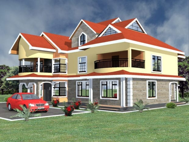 5 bedroom house designs