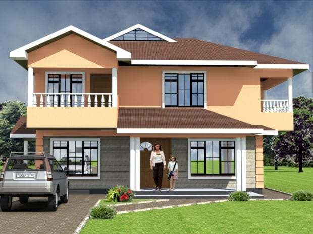 Maisonette House Plan