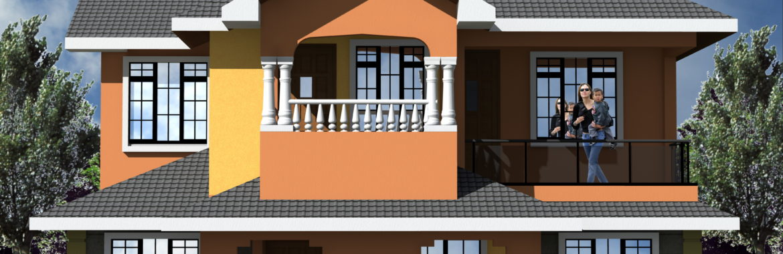 4 Bedroom Design 1064 A