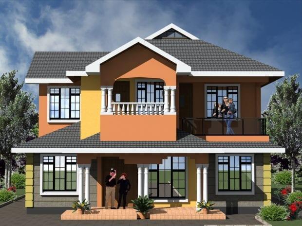 maisonette modern house plans