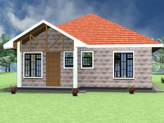 three bedroom simple house plans