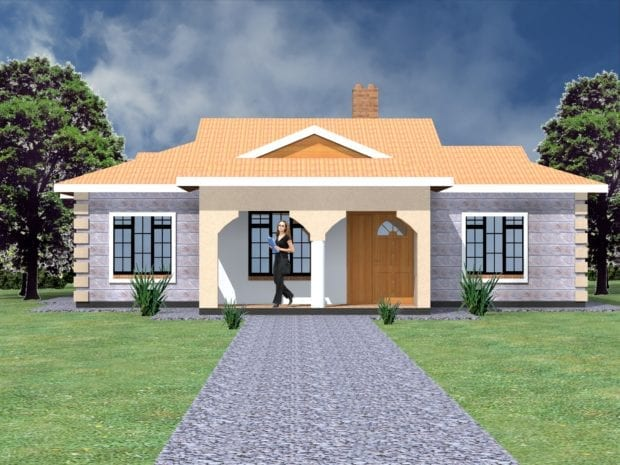 Simple house design in Kenya