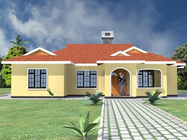 4 bedroom bungalow