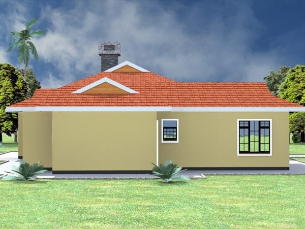 Spacious 4 Bedroom Bungalow
