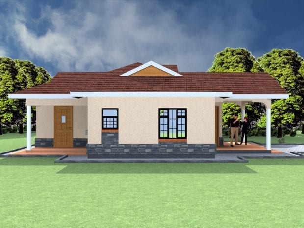 3 bedroom house design plan