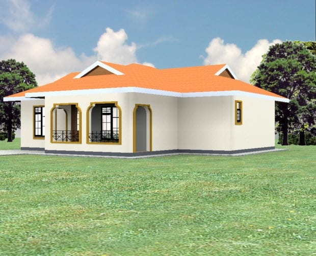 plan for 3 bedroom bungalow