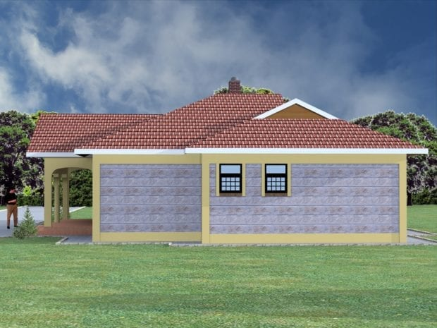 3 bedroom bungalow house