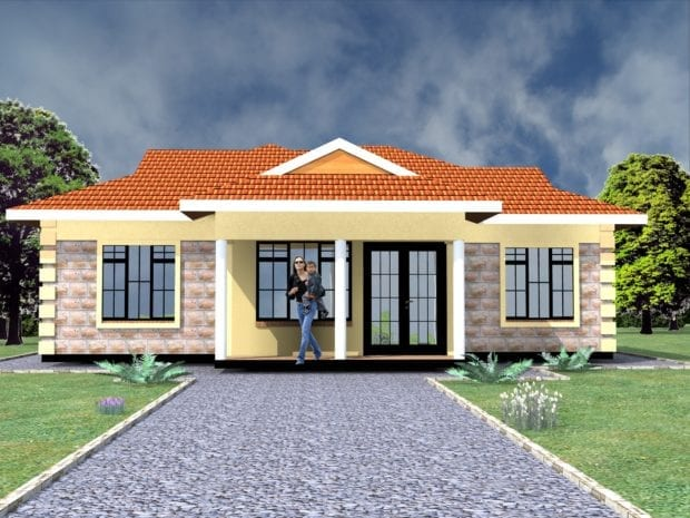 flat plan view design