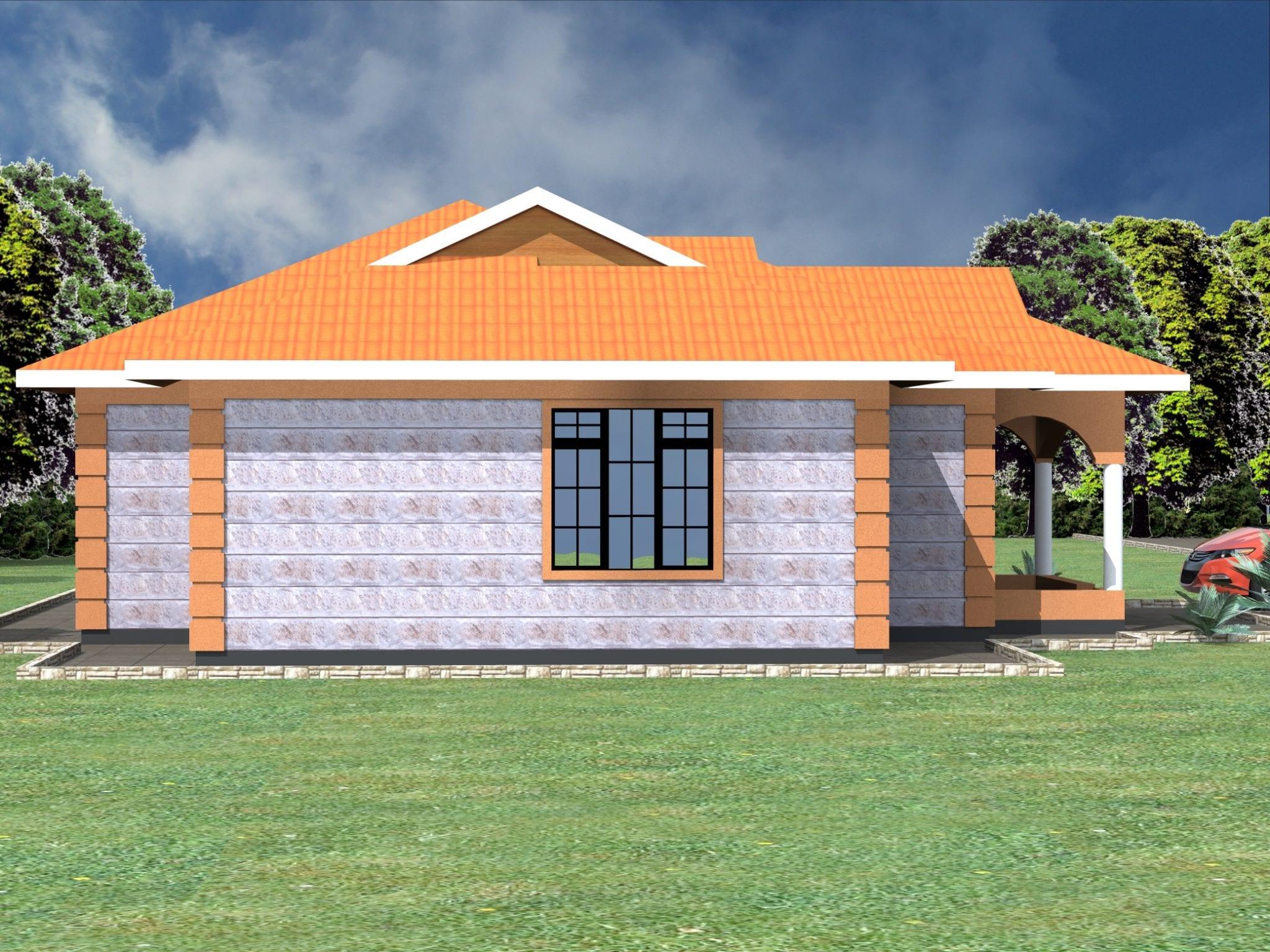 Simple 3 bedroom house plans in kenya |HPD Consult