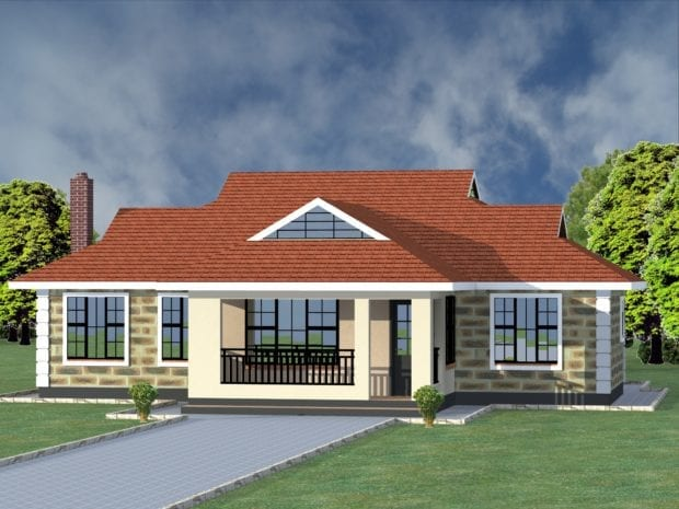 bungalow design in kenya
