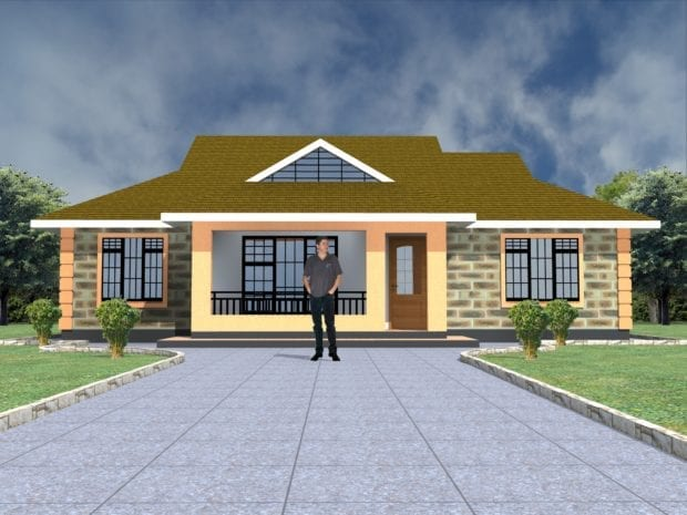 floor plan bungalow design