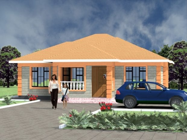 3 bedroom house plans design