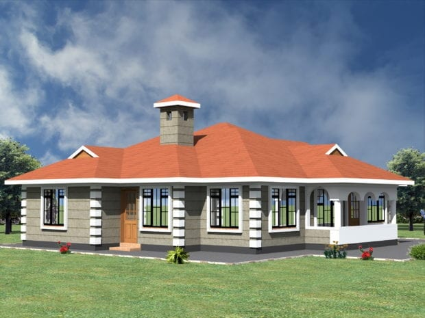 simple 4 bedroom house plans in kenya