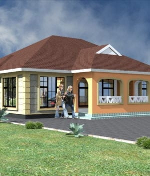 three bedroom house designs