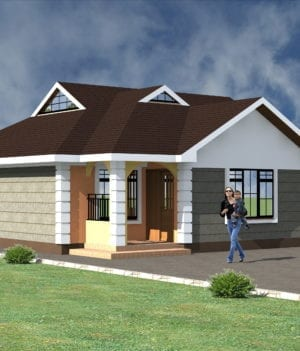 bungalow house plans kenya