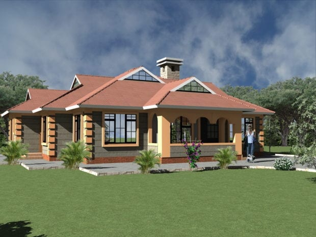 Single Story House Plan Designs