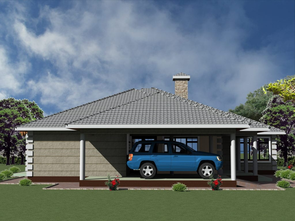 Simple 3 Bedroom House Plans With Garage Hpd Consult