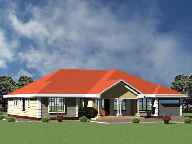 4 Bedroom Modern House Plans