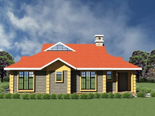 3 bedroom bungalow house plans