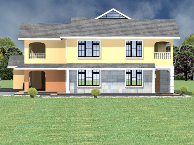 House Plans 4 Bedroom in Kenya