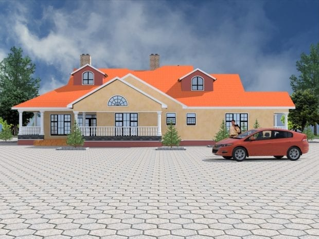Palatial 5 bedroom house design plan