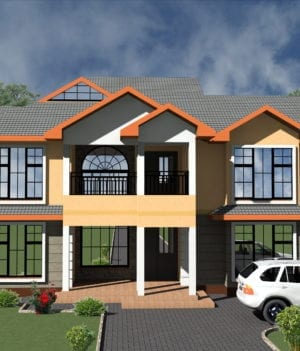 5 bedroom house designs in kenya