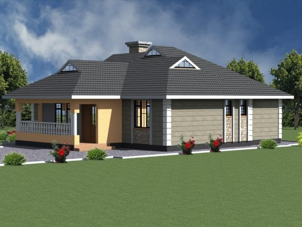 bungalow house plan design