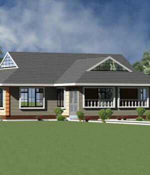 Modern House Plan 3 Bedroom