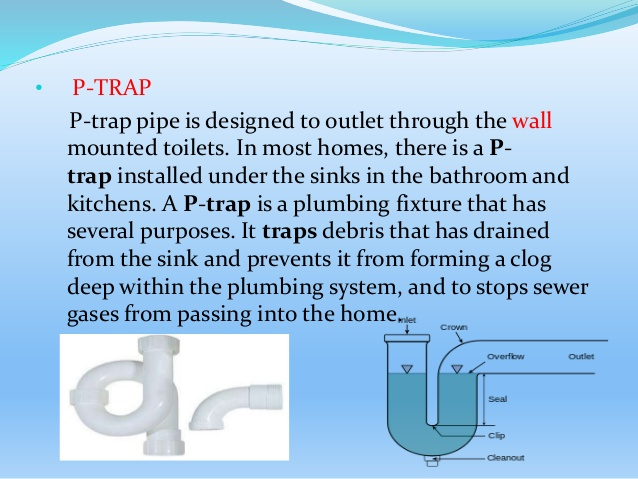 Types of Traps in Plumbing