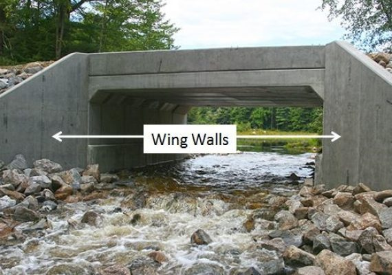 Parts of a Bridge | Abutment | Bridge Piers | Wing Walls | Deck | Bridge Bearing