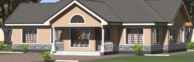Beautiful Modern Three Bedroom House Design