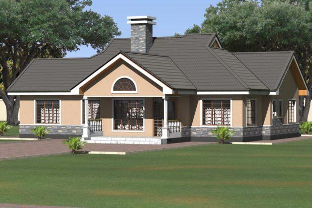 Modern Three Bedroom House Design